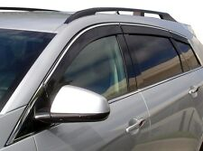 Auto Ventshade 796003 Ventvisor Low-Pro Chrome Trim 6Pc 2010-2015 Cadillac SRX
