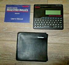 Franklin Spanish Master Language Handheld Electronic Sm-600 Works Great!