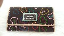 XOXO Wallet Multi Color Tri Fold Organizer