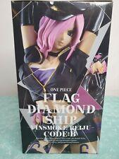 One Piece Reiju Vinsmoke FLAG DIAMOND SHIP Code B Figure Banpresto ~ US SELLER