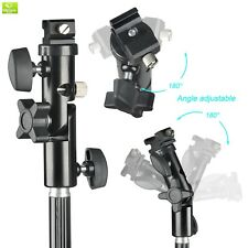 Emart Photo Studio Double Off Camera Speedlight Flash Umbrella Kit, Shoemount E-
