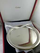 Authentic 11' Cartier Pewter Serving Tray In Box - Complete