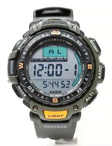 Orologio Casio prg-40 protrek watch military clock triple sensor montre rare