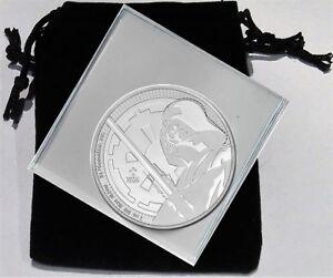 2018 Silver Darth Vader BU Coin