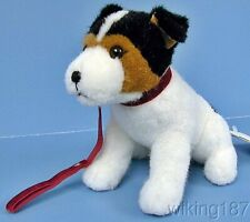 Kosen Of Germany #5280 New Sitting Jack Russell Terrier Dog Plush Toy