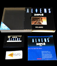 ALIENS 2 MSX MSX2 MegaRom Japanese Complete Alien Square