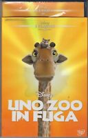 DVD UNO ZOO IN FUGA DISNEY ED.REPACK 2015 n.46 CON SLIPCOVER NUOVO SIGILLATO