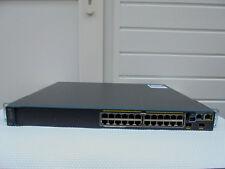CISCO WS-C2960S-F24PS-L  SWITCH