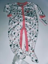 DUCK DUCK GOOSE GIRLS PINK FLOWERS Sleep & play SIZE 3-6 months MSRP $16.00