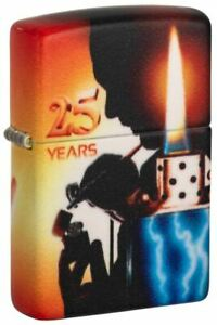 Genuine ZIPPO Petrol Lighter - 540 CLAUDIO MAZZI 25TH ANNIVERSARY - 49700