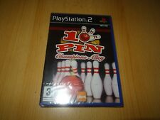 10PIN CHAMPIONS ALLEY - PLAYSTATION 2 PS2 - Nuevo Precintado