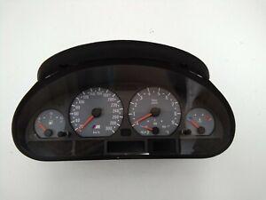 Original BMW 3er E46 M Tacho Kombiinstrument Cluster Speedometer 7833104