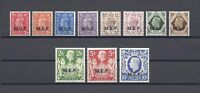 BOIC/Middle East Forces 1943 SG M11/21 MNH Cat £85