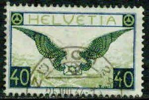 SWITZERLAND – 1929 -  AIRMAIL  - VF°
