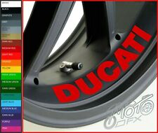 DUCATI Inside Wheel Rim Stickers Decals - 20 Colors Available - x 4 or x 8