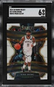2019 Panini Select White Prizm Kyrie Irving #27 SGC 6 LIMITED EDITION 149 CARDS!