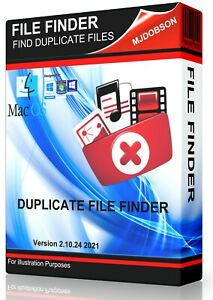 DUPLICATE FILE FINDER REMOVER - LOCATE FILES IMAGES MUSIC DATA PHOTOS PICTURE