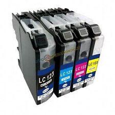 4 CARTUCCE COMPATIBILI PER BROTHER LC-127XL DCP-J4110DW MFC-J4410 J4510 DW J4610