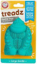 Arm & Hammer Treadz Super Gorilla Dental Dog Toy One Size Blue