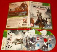 ASSASSIN'S CREED III 3 XBOX 360 Versione Italiana 1ª Edizione ○ COMPLETO - FG