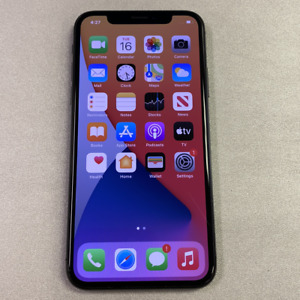 Apple iPhone X - 64GB - Gray (Unlocked) (Read Description) AI1068