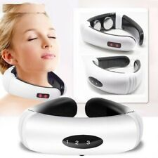 Electric Pulse Back Neck Massager Far Infrared Heating Pain Relief Tools Health