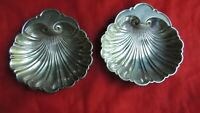 Beautiful Gorham Sterling Silver Set of 2 Shell Bowls