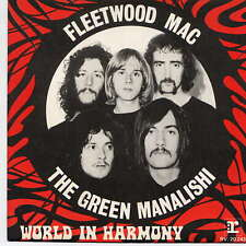 FLEETWOOD MAC -  The green Manalishi - 7'' (45 tours) - B.I.E.M.