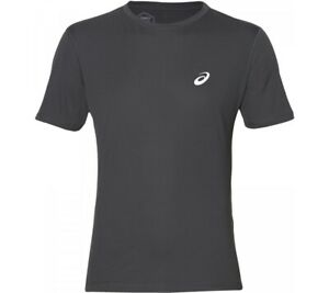 ASICS Men's SILVER SS ONE TOP Size L/G Gray