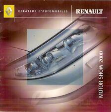 Renault Clio Sport 172 V6 Scenic RX4 Laguna Avantime Motorshow 2000 UK Brochure