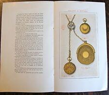 CEREMONIAL DU MARIAGE OFFERT PAR LA GERBE D'OR, CHAPPUIS FILS, JOAILLERIE,(1930)
