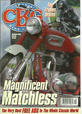 CLASSIC BIKE GUIDE MAGAZINE DEC 1998 #92 TOP TRIPLES TESTED MAGNIFICENT MATCHLES