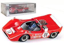 Spark S1112 McLaren M6B #11 Riverside 1968 - L Motschenbacher 1/43 Scale