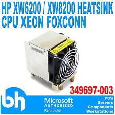 HP Workstation XW6200/XW8200 Heatsink and Fan 349697-003 Foxconn Xeon CPU