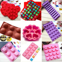 Chocolate Cake Candy Silicone Molds Pastry Ice Cube DIY Cupcake Soap Mould