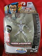 Marvel LEGENDS TOYS R US Wolverine 25TH SILVER ANNIVERSARY 1/25000 ACTION Figure