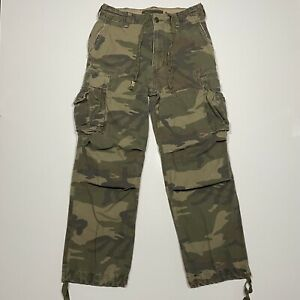 ABERCROMBIE & FITCH Camo Cargo Pants Military Size 32 L 32x32