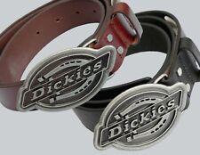 Dickies Gürtel/Ledergürtel Everett-Belt, schwarz, braun, L/XL=98-108cm