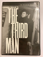 The Criterion Collection  THE THIRD MAN  DVD  - Orson Wells Joseph Cotton