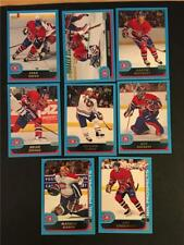 2001/02 Topps Montreal Canadiens Team Set 8 Cards
