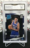 2017 DONRUSS OPTIC MARKELLE FULTZ RATED ROOKIE CARD #200 76ers       A25