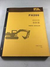 Fiat FH200 Excavator Parts Catalog