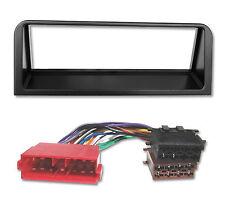 Radioblende Set für Peugeot 106 Citroen AX Autoradio Blende Rahmen Adapter Kabel