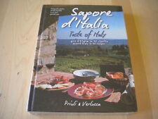 Sapore d'Italia Giro in 90 ricette Isaia Priuli Libro cucina illustrato rilegato