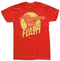 DC Comics The Flash Arm Extended Red Men's T-Shirt New