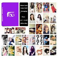 Fashion Cute 30pcs /Box Kpop FX all members Photo card Lomo card
