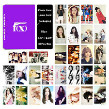 Fashion Cute 30pcs /Box Kpop FX all members Photo card Lomo card