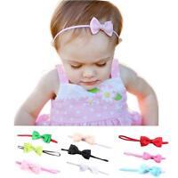 10PC Babys Headband Hairband Elastic Wave Point Bowknot Photography Hottest