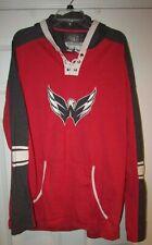 NHL Washington Capitals Mens Long Sleeve Hoodie Sweatshirt Small Old Time Hockey