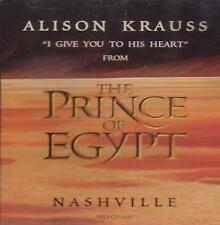 ALISON KRAUSS I Give You To His Heart CD USA Dreamworks 1998 4 Mins 30 Version